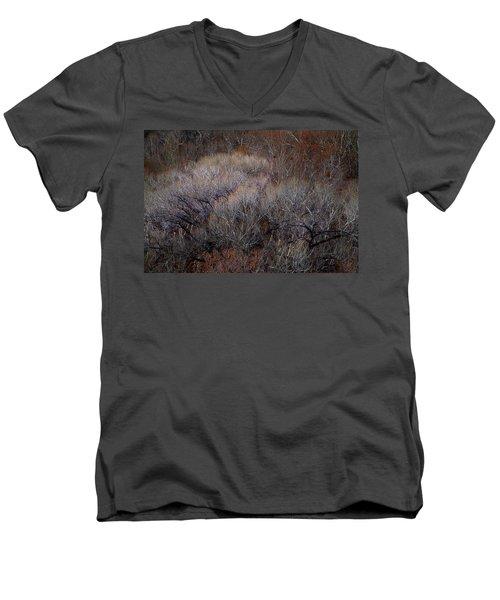 Ozarks Trees #5 Men's V-Neck T-Shirt