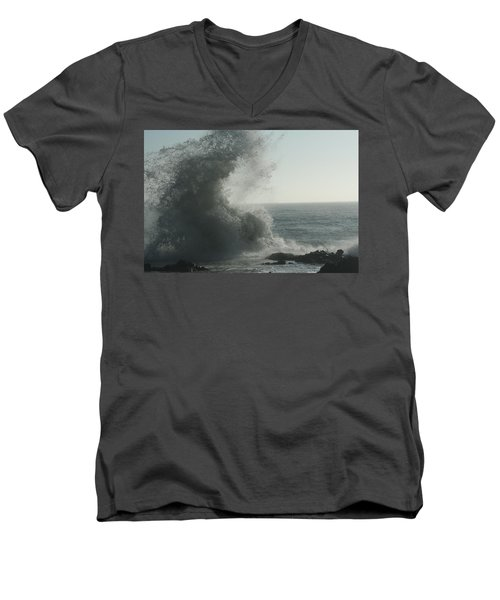 Pacific Crash Men's V-Neck T-Shirt
