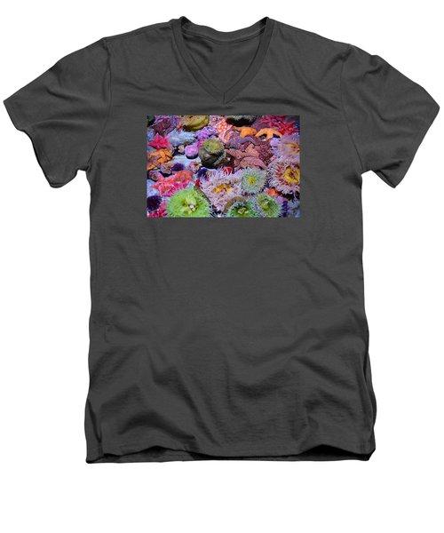 Pacific Ocean Reef Men's V-Neck T-Shirt
