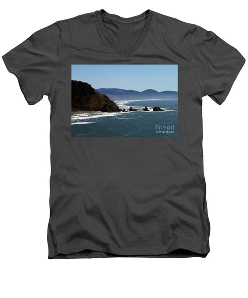 Pacific Ocean View 2 Men's V-Neck T-Shirt
