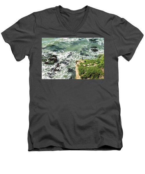 Pacific Overlook Men's V-Neck T-Shirt