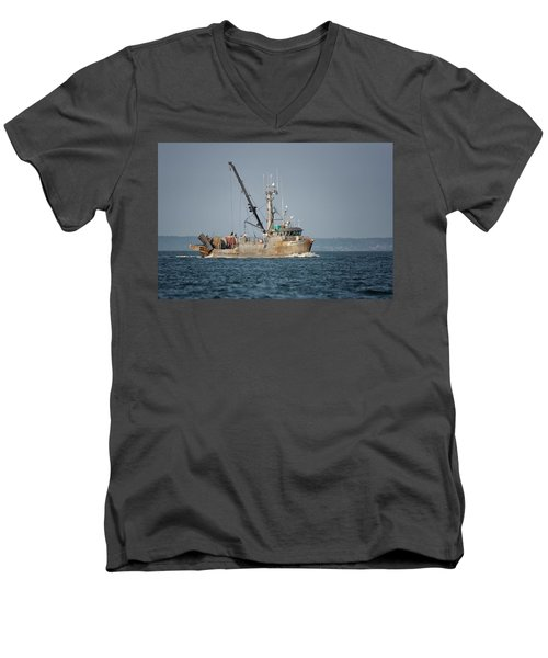 Pacific Viking Men's V-Neck T-Shirt