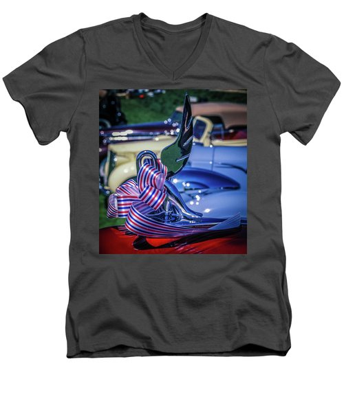 Packard Swan Men's V-Neck T-Shirt