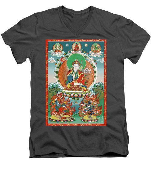 Padmasambhava Men's V-Neck T-Shirt