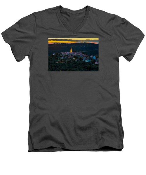 Padna Men's V-Neck T-Shirt by Robert Krajnc