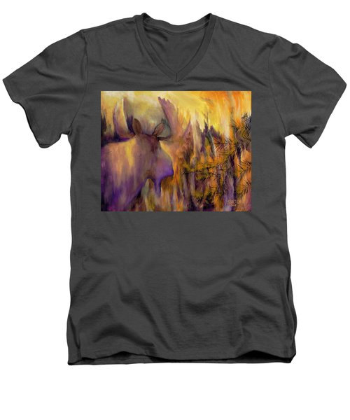 Pagami Fading Men's V-Neck T-Shirt