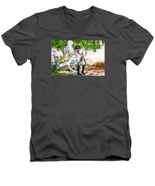 Page 12 Men's V-Neck T-Shirt