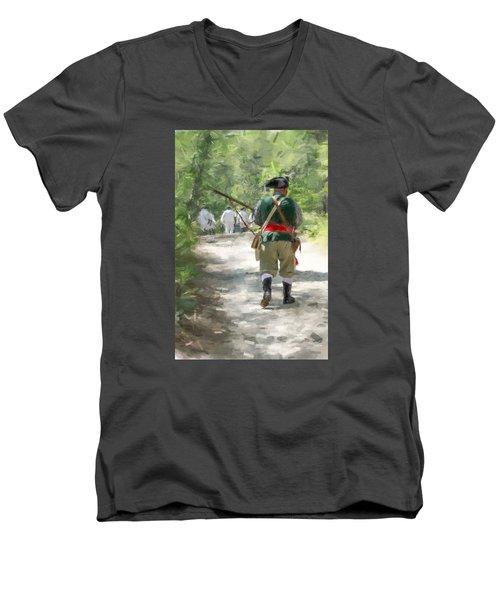 Page 14 Men's V-Neck T-Shirt