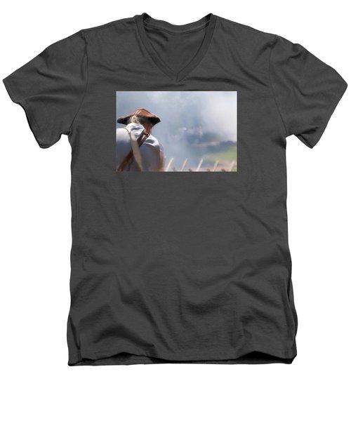 Page 22 Men's V-Neck T-Shirt