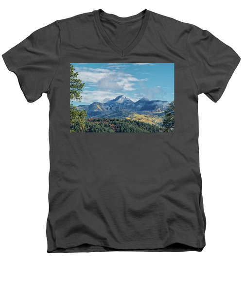 Pagosa Peak Autumn 2014 Men's V-Neck T-Shirt