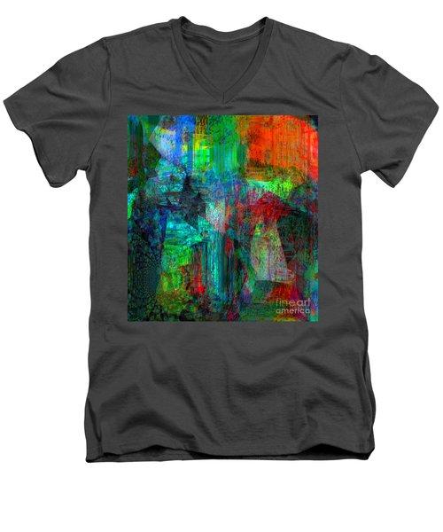 Pain Is Universal Men's V-Neck T-Shirt