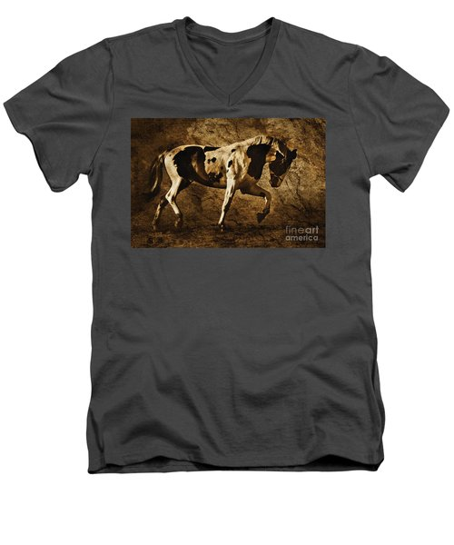 Paint Horse Men's V-Neck T-Shirt