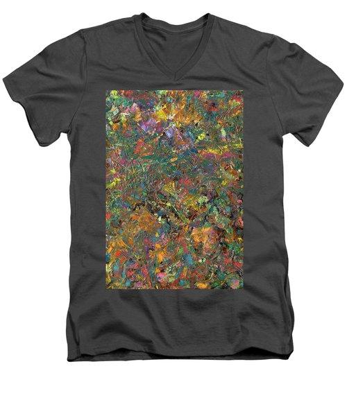 Paint Number 29 Men's V-Neck T-Shirt