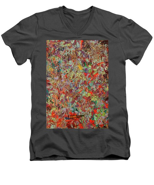 Paint Number 33 Men's V-Neck T-Shirt