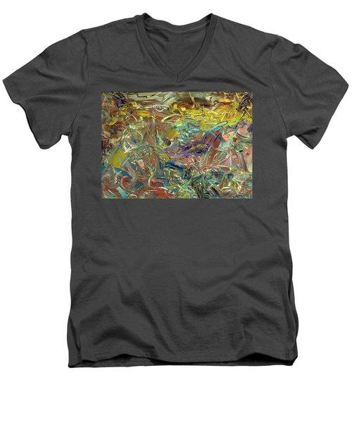 Paint Number46 Men's V-Neck T-Shirt