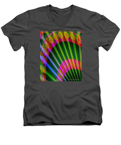 Paintbrushes Men's V-Neck T-Shirt