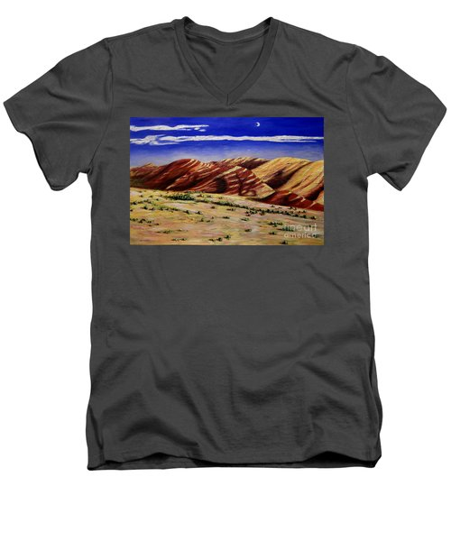 Painted Hills Men's V-Neck T-Shirt