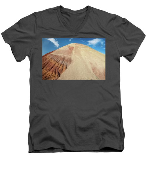 Painted Mound Men's V-Neck T-Shirt by Greg Nyquist