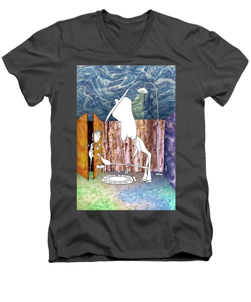 Painter Men's V-Neck T-Shirt