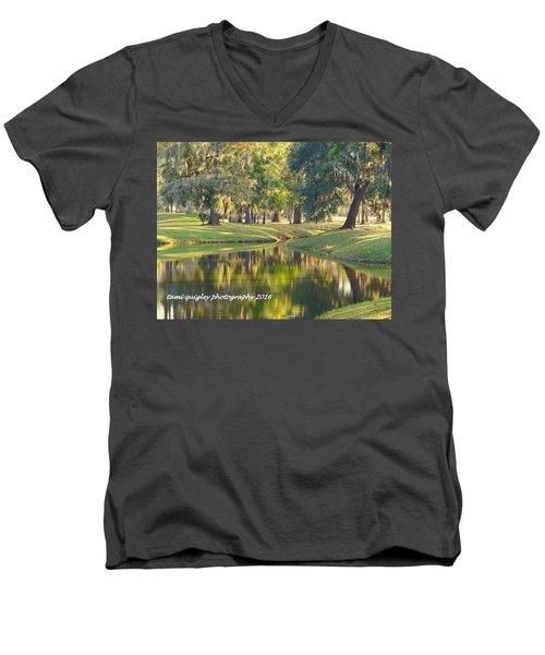 Painting Dixie Men's V-Neck T-Shirt