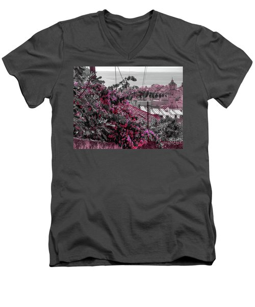 Painting The Town Red Men's V-Neck T-Shirt