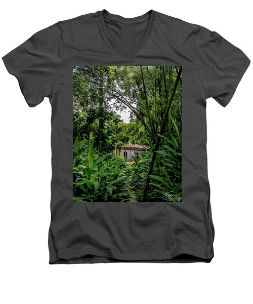Paiseje Colombiano #10 Men's V-Neck T-Shirt