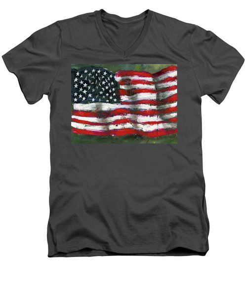 Palette Flag Men's V-Neck T-Shirt