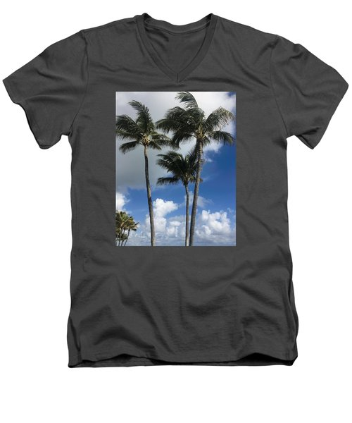 Palm Men's V-Neck T-Shirt