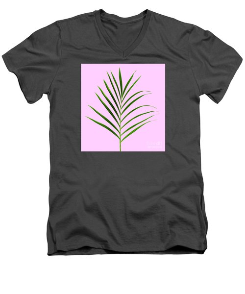 Palm Leaf Men's V-Neck T-Shirt