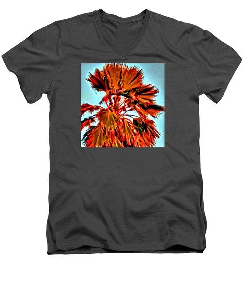 Palm Men's V-Neck T-Shirt
