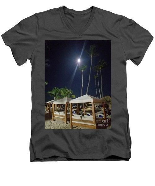 Palm Moon Men's V-Neck T-Shirt
