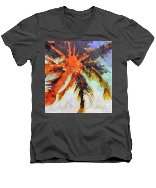 Palm No. 6 Men's V-Neck T-Shirt
