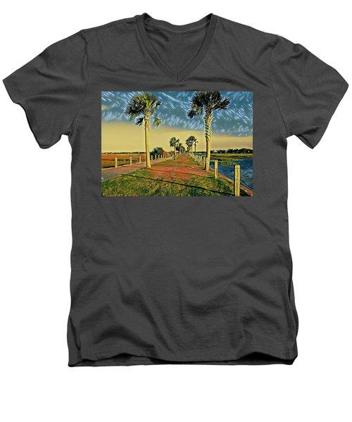 Palm Parkway Men's V-Neck T-Shirt