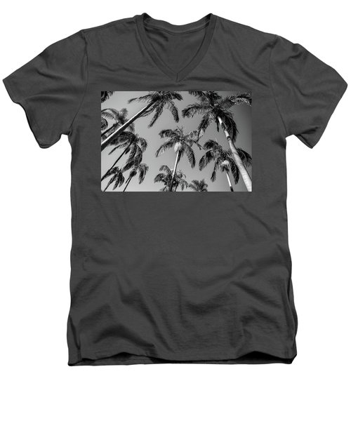 Men's V-Neck T-Shirt featuring the photograph Palms Up I by Ryan Weddle