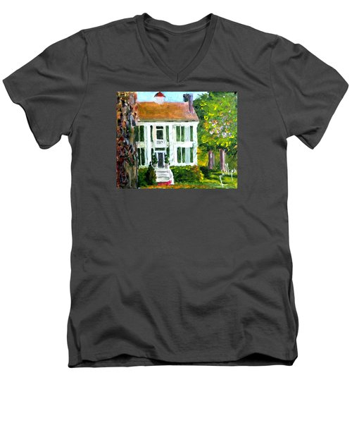 Palto Alto Plantation Up Close Men's V-Neck T-Shirt