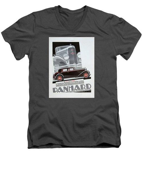Panhard #8703 Men's V-Neck T-Shirt