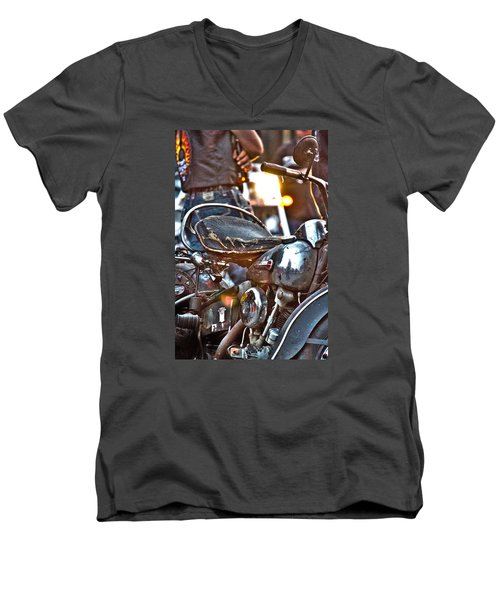 002 - Panhead Men's V-Neck T-Shirt