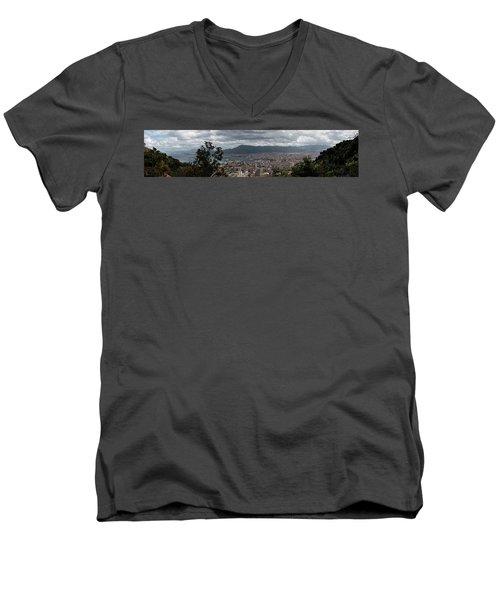 Panorama Palermo Men's V-Neck T-Shirt