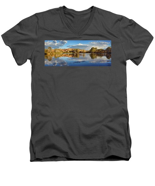 Panoramic Reflections Men's V-Neck T-Shirt