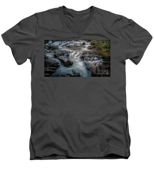 Panther Creek Upper Falls Men's V-Neck T-Shirt