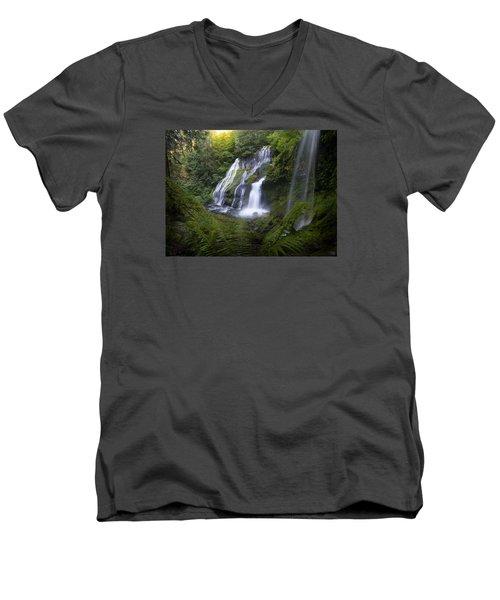 Panther Falls Men's V-Neck T-Shirt
