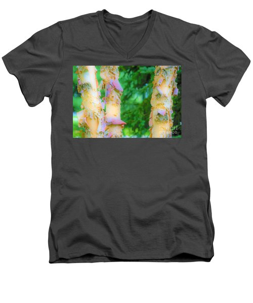 Paper Thin Bark Men's V-Neck T-Shirt