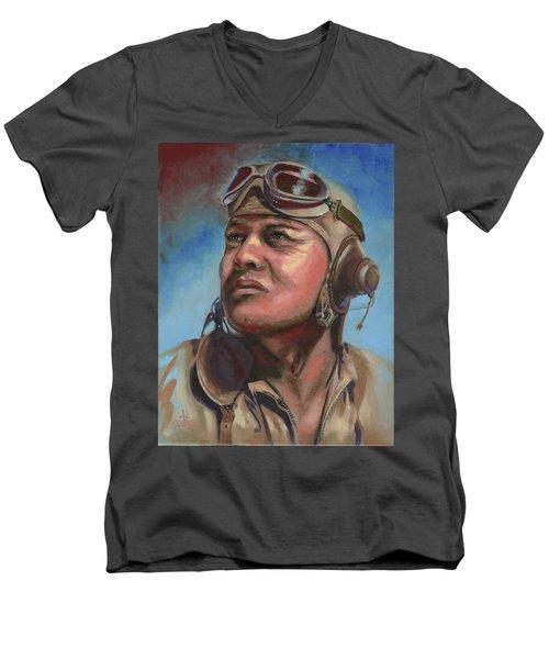 Pappy Boyington Men's V-Neck T-Shirt
