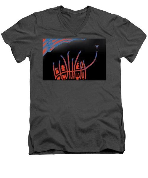Parade Route Men's V-Neck T-Shirt