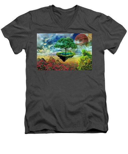 Paradise Island Men's V-Neck T-Shirt