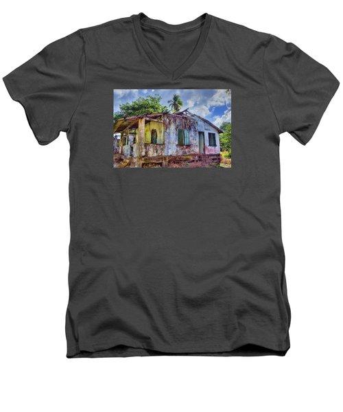 Paradise Lost Men's V-Neck T-Shirt by Nadia Sanowar