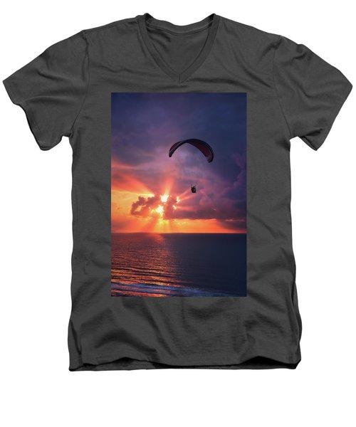 Crack The Skye Men's V-Neck T-Shirt