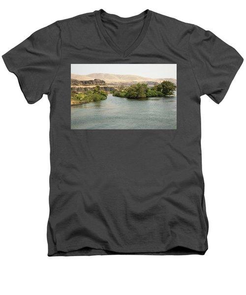 Parapet  1 Men's V-Neck T-Shirt