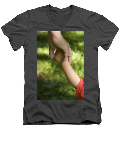 Parenthood Men's V-Neck T-Shirt