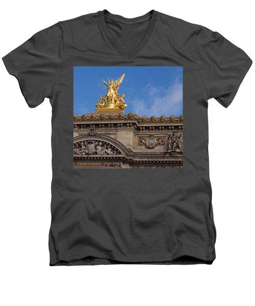 Paris Opera - Harmony Men's V-Neck T-Shirt